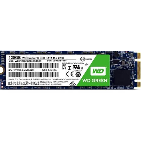 WD 西部数据 Green系列 固态硬盘 120GB(WDS240G1G0B)