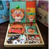 新款木质磁性拼拼乐玩具 19.9元(需用券)