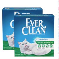 美国进口蓝钻猫砂膨润土猫砂 猫沙猫猫抗菌绿标11.3KG*2包邮 *4件