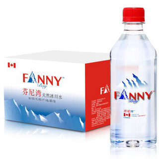 FANNY BAY 芬尼湾 加拿大进口 天然冰川水 500ml*12瓶 *2件