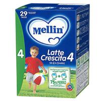 京东PLUS会员:Mellin 美林 婴幼儿配方奶粉 4段 800g *3件