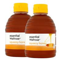 Waitrose 天然成熟百花蜂蜜 454g*2瓶 *2件