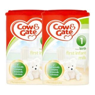 英国Cow&Gate牛栏婴儿奶粉一段 900g*2罐