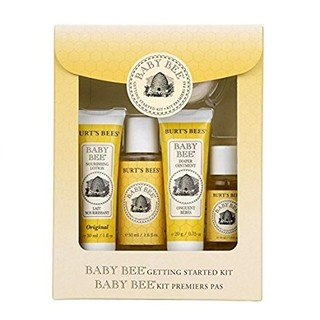 凑单品 : BURT'S BEES 小蜜蜂 Getting Started Kit 婴儿护理洗护用品 5件套