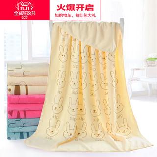 柔卡 超细纤维浴巾