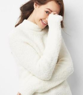 Gap 盖璞  908085 女士羊毛混纺套头衫