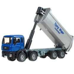 凯迪威 工程汽车模型 1:50合金翻斗车倾卸大卡车玩具大型挂车仿真汽车玩具 *2件