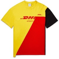 新品发售:VETEMENTS DHL 2018春夏 中性款 T恤