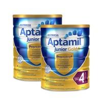 Aptamil 爱他美 金装 婴幼儿配方奶粉 4段 900g*2罐