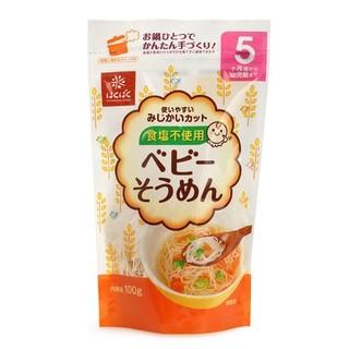 hakubaku 黄金大地 无盐宝宝碎素面  5个月起 2包装