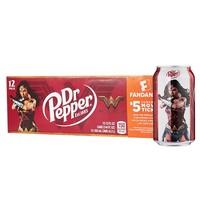 美国进口 胡椒博士 Dr Pepper 原味1箱 355mlx12罐