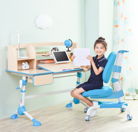 SINGAYE 心家宜 111 可升降儿童学习桌(单桌 书架)