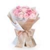 Roseonly 爱在满怀 女神节特别款 粉色手捧玫瑰