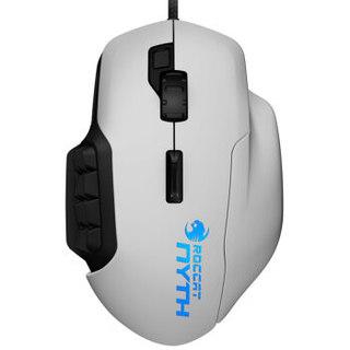 冰豹 (ROCCAT) 幻能豹Nyth 有线电竞游戏鼠标 白