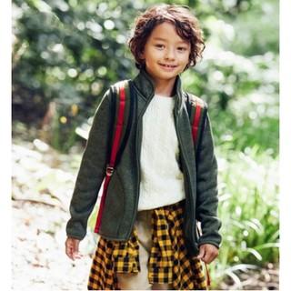 7日0点 : UNIQLO 优衣库 400094 大童款针织摇粒绒茄克