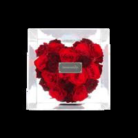 Roseonly 全世爱  玫瑰花盒 水晶簇拥版特别款