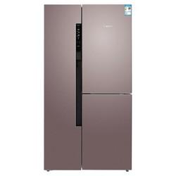博世(BOSCH)569升 变频混冷无霜对开门冰箱 零度保鲜 独立控湿(玫瑰金)BCD-569W(KAF96A66TI)