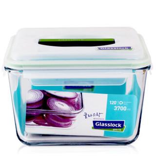 三光云彩glasslock 韩国进口钢化玻璃饭盒  MHRB370/3700ml+凑单品