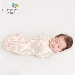 Summer Infant 新生儿防惊跳婴儿襁褓睡袋 1段 单件装