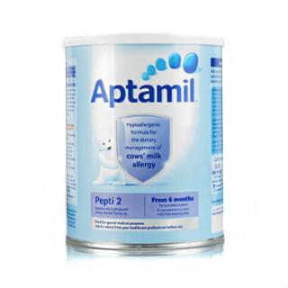 Aptamil 愛他美 深度水解抗牛奶蛋白過敏配方奶粉 2段 800g*2罐
