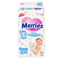 Merries 妙而舒 婴儿纸尿裤 L54片*6+GOO.N 大王 维E系列 婴儿纸尿裤 L68片