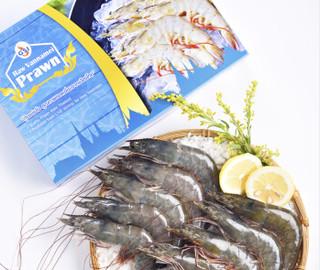 活冻泰国白虾/女王虾 21-30只/盒 原装进口
