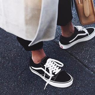 VANS 范斯 Old Skool Navy 男女做旧板鞋帆布鞋