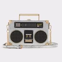 ALDO Tiezzo 小录音机造型 单肩斜挎包
