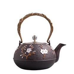 M-cooker 铁工房 喜上眉梢 铸铁茶壶 1300ml