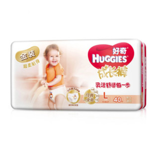 HUGGIES 好奇 金装 成长裤 L40片