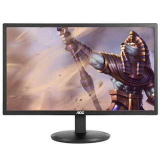 AOC I2080SW 19.5英寸IPS广视角炫彩硬屏LED背光电脑显示器(黑色)