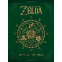 《The Legend of Zelda: Hyrule Historia 塞尔达传说:海拉尔编年史》 英文原版