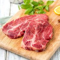 澳洲原切嫩肩牛排 200g(2片)  *6件+原膳新西兰半壳青口贝350g*3件