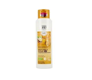lavera 拉薇 有机杏仁坚果油二合一深层修护洗发水 250ml