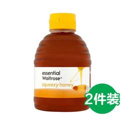 waitrose 纯清澈蜂蜜 挤压罐装 454g*2瓶
