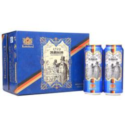 凯撒原樽(KAI SA YUAN ZUN)11° 黄啤酒 听罐装500ml*12听整箱装 纯正爽口