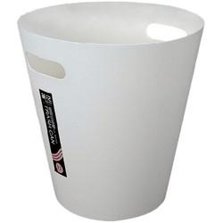 茶花 垃圾桶纸篓极简家居收纳储物桶8.3L 1525 *10件