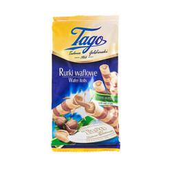 Tago 爱芙 泰格榛子味威化卷(饼干)160g/袋 *10件
