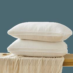紫罗兰 酒店水洗Q弹护颈枕头枕芯 一对装
