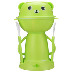 rikang 日康 RK-C1001 儿童餐具套装 绿色 *3件