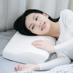 京东 plus 网易严选 升级款护颈加翼记忆枕 记忆棉慢回弹颈椎枕护保健枕枕头多种睡姿适用 50*30*10-6cm