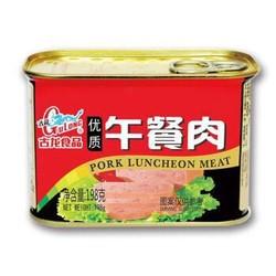 古龙食品 肉罐头 午餐肉198g *6件