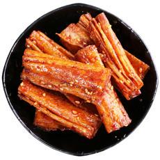 湖南特产豆皮手工怀旧辣片500g券后价¥20.6包邮
