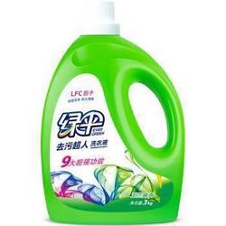 绿伞 洗衣液 3kg 玉兰幽香 *2件