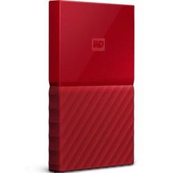 WD 西部数据 My Passport 2.5英寸 移动硬盘  4TB 中国红