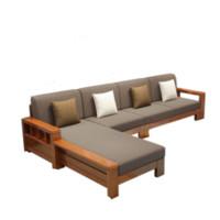 Buleier 布雷尔 现代中式布艺沙发