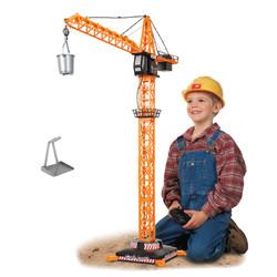 SIMBA 仙霸 遥控塔吊起重机吊车工程车玩具
