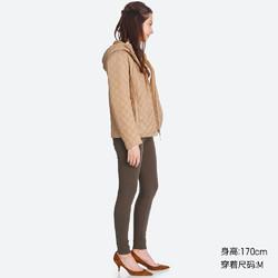 女装 仿羊羔绒压线连帽外套 400721 优衣库UNIQLO
