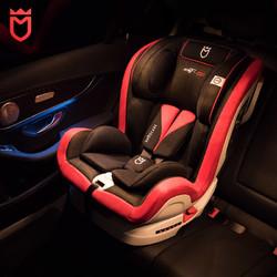 安默凯尔GT2超宽9月-12岁isofix金属骨架全注塑车载儿童安全座椅