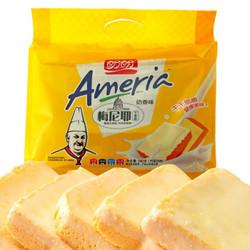 盼盼 梅尼耶干蛋糕 面包干饼干 奶香味240g(内装24枚) *3件